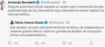 Duzán vs. Bendetti