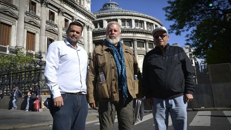 Juan Carlos Alderete, Daniel Menéndez y Esteban