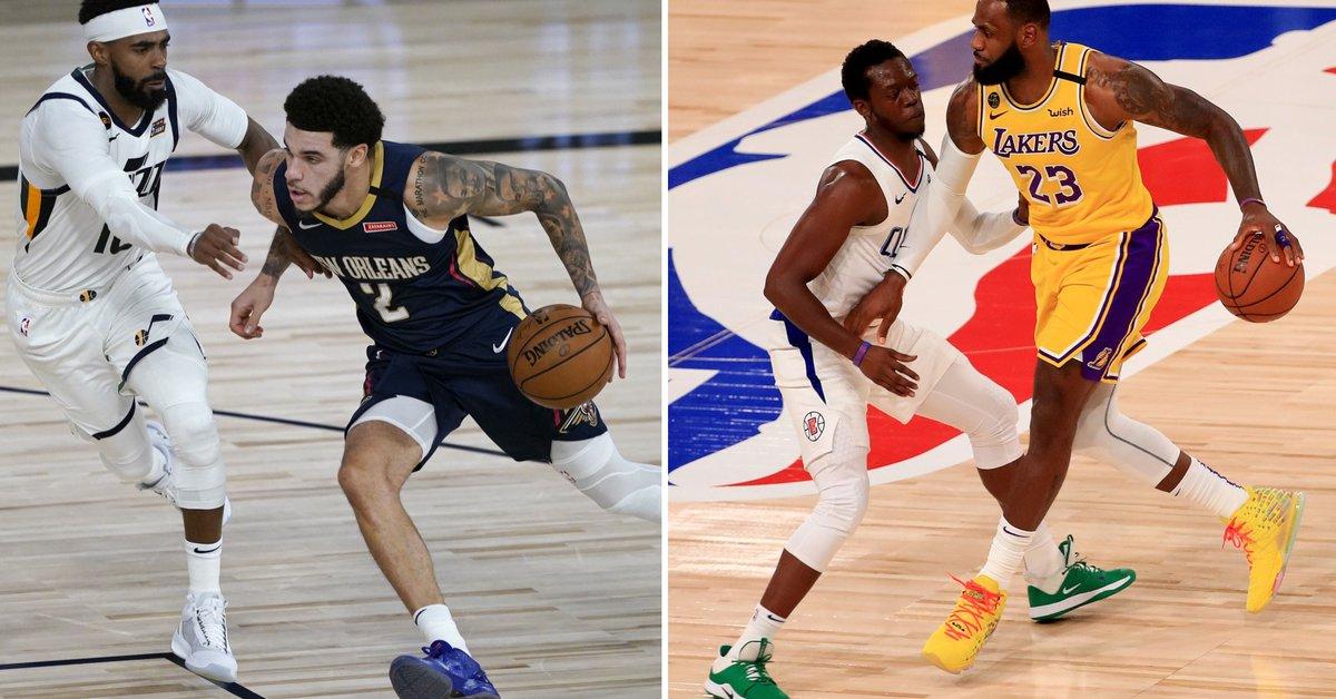 """Volvió la NBA en la """"burbuja"""" de Orlando: Utah venció a New Orleans y los Lakers se impusieron a los Clippers - Infobae"""