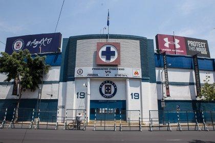 Estadio Azul podría tender fútbol profesional de nuevo, luego de la salida de Cruz Azul (Foto: Tercero Díaz/ Cuartoscuro)