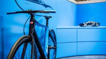 La alianza entre PG y Bugatti creó una edición de 667 unidades de una bicicleta hecha a imagen y semejanza del Chiron