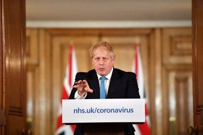 El Primer Ministro Británico, Boris Johnson, también le pidió a automotrices de su país que prevean producir equipamiento sanitario. REUTERS