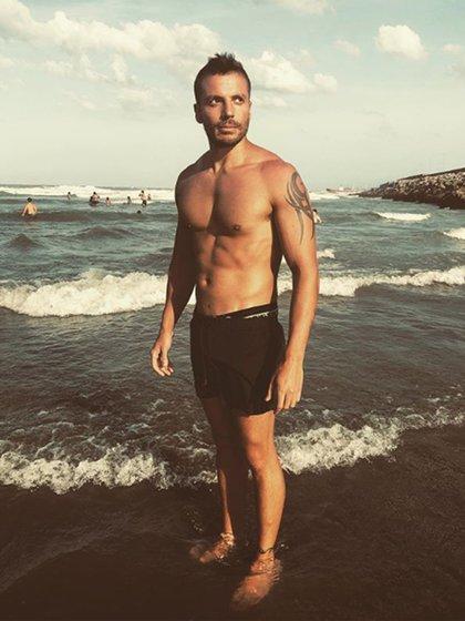 Ulises Jaitt, de vacaciones en Mar del Plata (Foto: Instagram)