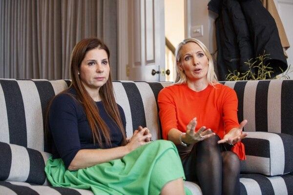 Las fundadoras Debbie Wosskow y Anna Jones(AFP)