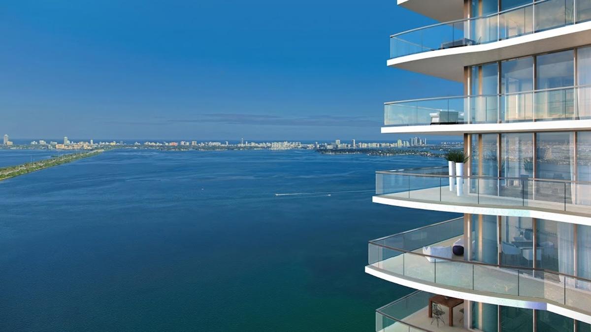 Gran Paraíso, torres residenciales sobre la Bahía de Biscayne - Infobae