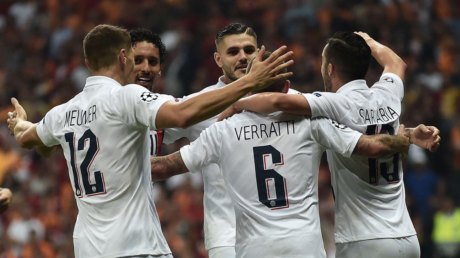 El Paris Saint Germain, ya clasificado a los octavos de final como líder del Grupo A de la UEFA Champions League, recibe al Galatasaray en el Parque de los Príncipes. (AFP)