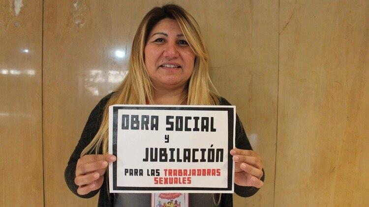 María López Villagra, antes de ser detenida por el delito de trata de personas con fines de explotación sexual