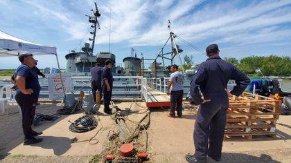 La gravedad de la situación sobrepasó a los habitantes de San Pedro que recurrieron al auxilio de la Armada Argentina