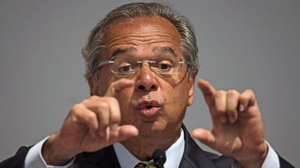 Paulo Guedes, ministro de de Economía de Brasil. Un acuerdo bilateral complicaría las perspectivas del Mercosur (AFP)