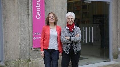 Gabriela Siracusano y Marta Maier