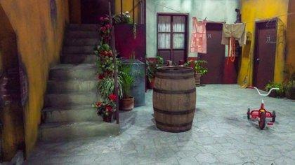 Así era la inolvidable vecindad del Chavo (Foto: cortesía Televisa)