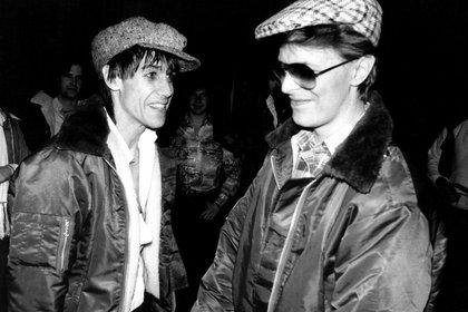 Iggy Pop y David Bowie (Mediapunch/Shutterstock)