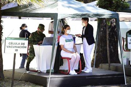 El sector privado ha mostrado su interés en adquirir vacunas contra COVID-19 (Foto: Cortesía Presidencia)
