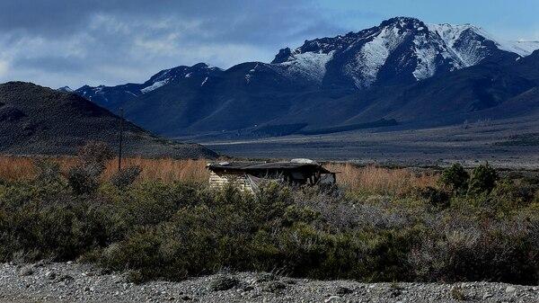 Puesto de vigilancia del territorio mapuche Pu Lof (Nicolás Stulberg)