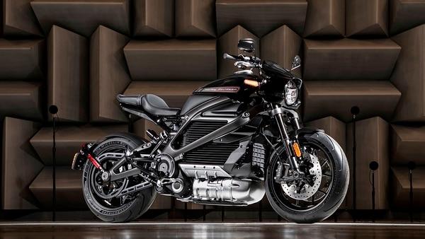 Prototipo de la moto eléctrica de Harley-Davidson, LiveWire (AP)