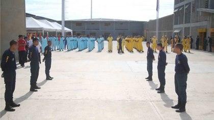 """Los familiares denuncian las condiciones en las que se encuentran recluidos del presos en el Centro de Formación para el Hombre Nuevo """"El Libertador"""" (Ministerio del Poder Popular para el Servicio Penitenciario Venezuela)"""