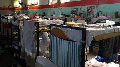 Cucheta: camas en un pabellón del penal federal porteño.
