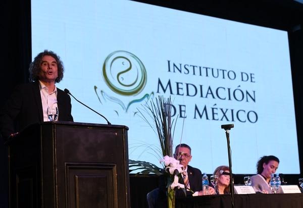 Jorge Pesquira Leal, coordinador General de los Congresos Nacionales y Mundiales de Mediación, México