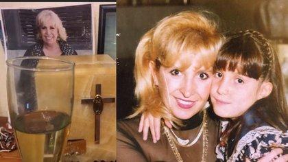 Hace unos días, Escalona mostró el simbólico altar que colocó en honor a su madre (Foto: Instagram @andreaescalona)