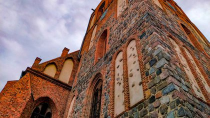 St. John's Church: This building in the center of Mysliborz dates from the Middle Ages of the Knights Templar (Malgosia Krakowska).