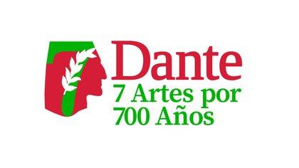 """El logo del programa """"Dante. 7 Artes por 700 años"""""""