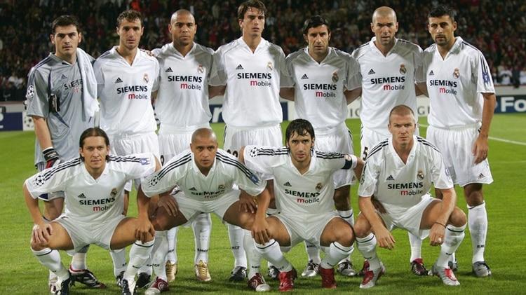 Los galácticos marcaron una era del fútbol mundial (AFP)