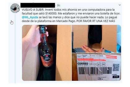 El reclamo de Juana en Twitter que visibilizó el problema.