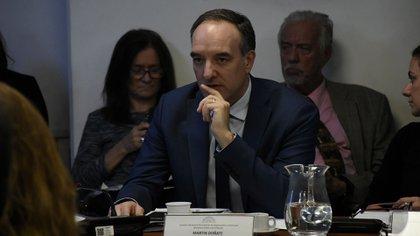 El senador Martín Doñate preside la Bicameral (Nicolás Stulberg)