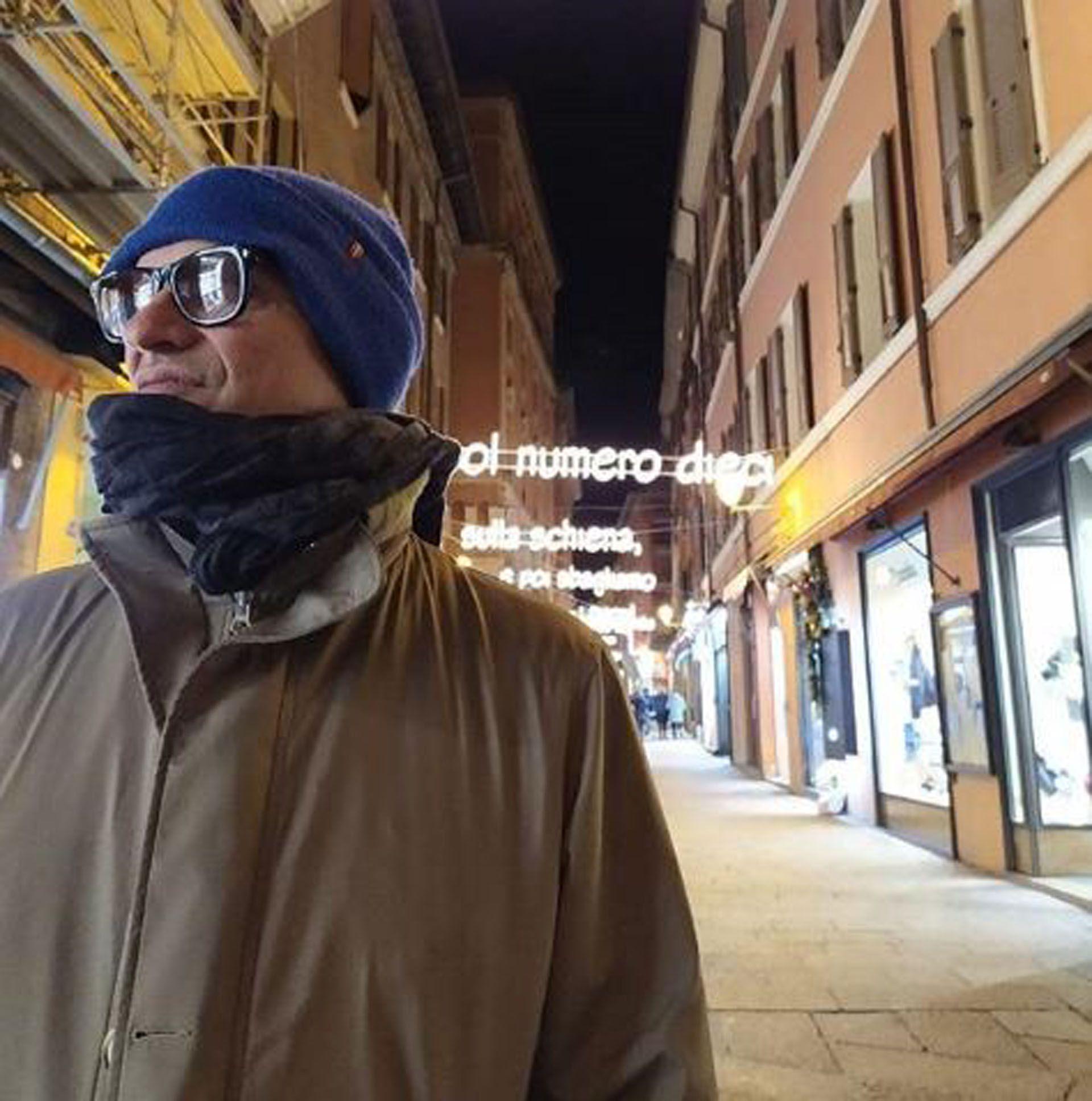 Carlos Belloso estuvo en diversas ciudad del norte de Italia (Foto: Instagram)