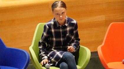 Greta Thunberg (REUTERS/Carlo Allegri)