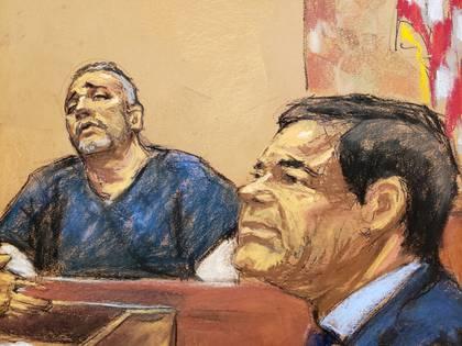 """Alex Cifuentes, declaró en el juicio contra """"El Chapo"""", el 15 de enero donde dio perturbadores declaraciones sobre los sobornos a altos mandos gubernamentales(Reuters/ Jane Rosenberg)"""