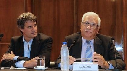 Alfonso Prat-Gay y Jorge Todesca hablaron de la inflación pasada y también de la futura NA 162