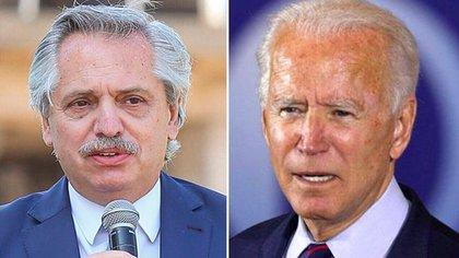 Alberto Fernández y Joseph Biden dialogaron por teléfono para relanzar las relaciones diplomáticas entre Argentina y los Estados Unidos