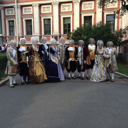 La antesala de la fiesta de Hope Funds en San Petersburgo.
