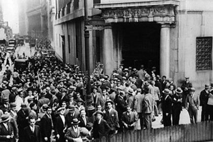 El estallido de la Bolsa de Nueva York tuvo repercusiones mundiales