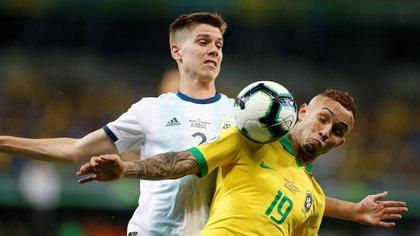 Foyth jugó la Copa América 2019 (Foto: EFE)