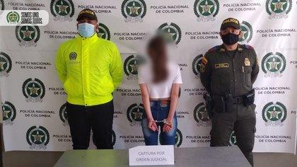 El menor de 13 años terminó contagiado de una enfermedad de transmisión sexual. Foto: Policía de Antioquia