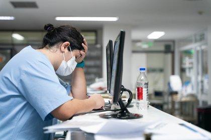 El pluriempleo y el agotamiento van de la mano: casi todo el personal de salud del Hospital tiene más de un trabajo.