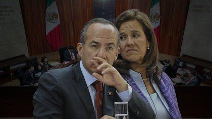 Felipe Calderon Margarita Zavala (Foto: Steve Allen)