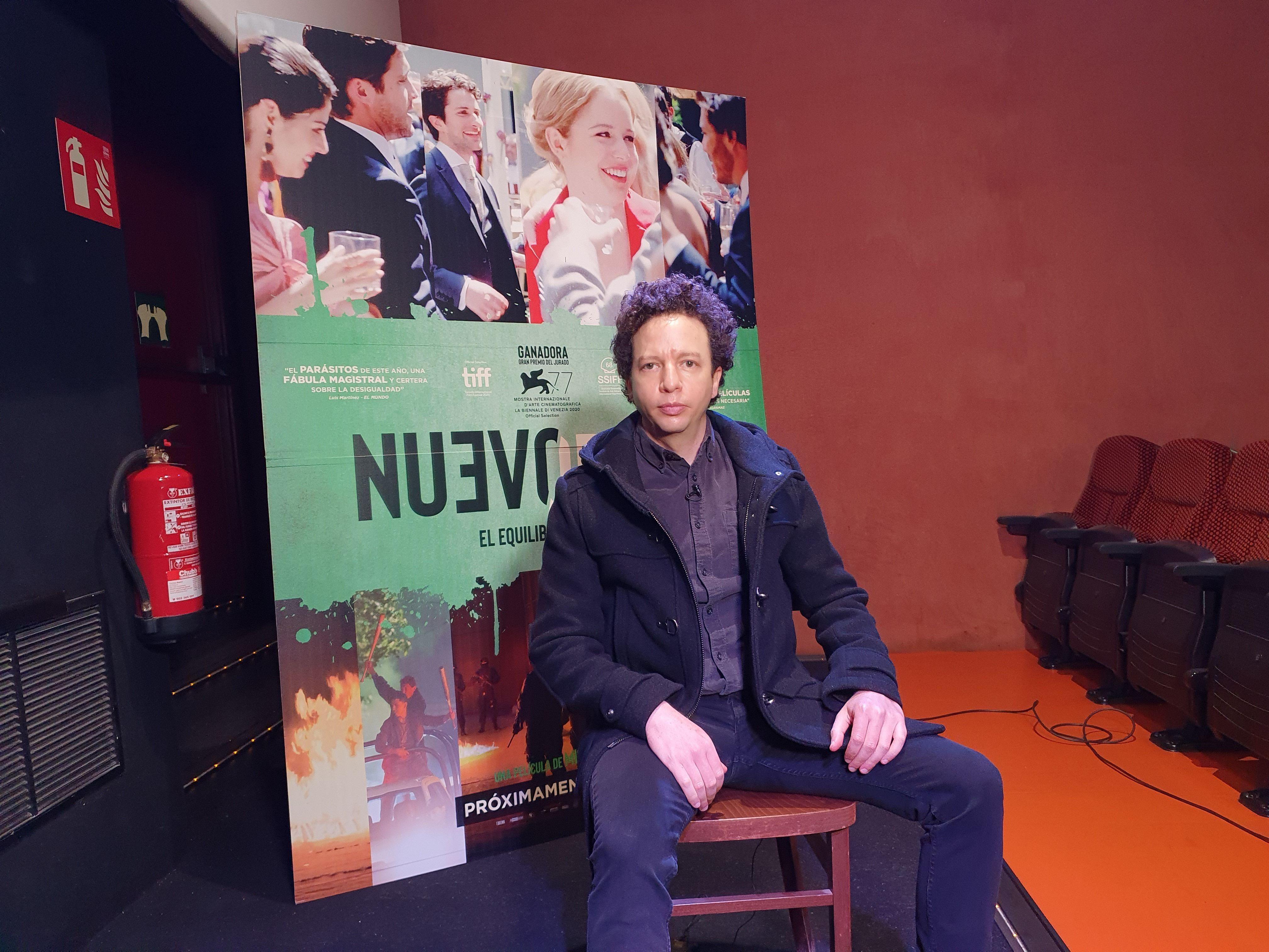 16/02/2021 El director mexicano Michel Franco presenta en España su nueva película, 'Nuevo orden' CULTURA