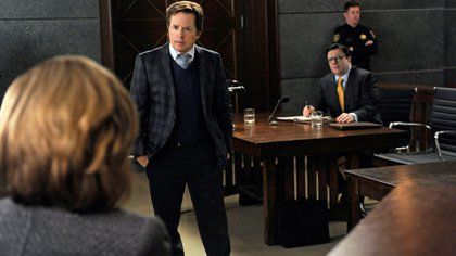 "Michael J. Fox en ""The Good Wife"""