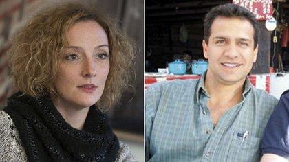 """Amantes y... ¿secuestradores? Florence Cassez e Israel Vallarta, protagonistas de """"Una novela criminal""""."""