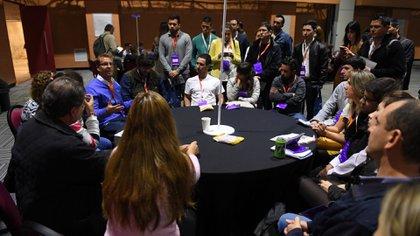 Rondas de negocios y asesoramiento hubo también en el evento (Maximiliano Luna)