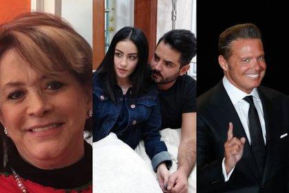 Cecilia Romo mejora su condición tras hemorragia pulmonar, José Eduardo Derbez admite que fue infiel  y de Luis Miguel pudo tener un hijo con Lucía Mendez  (Foto:Cuartoscuro/Instagram@ceciliaromomx/@paodalay_2203)