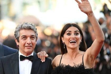 """Son marido y mujer en la película """"Todos lo Saben"""" (AFP)"""