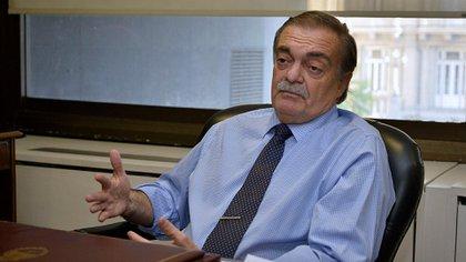 El juez Alberto Lugones, actual presidente del Consejo  dela Magistratura (Gustavo Gavotti)