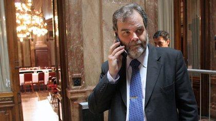 Eugenio Semino está a cargo del área de la Tercera Edad en la Defensoría del Pueblo porteña (NA)