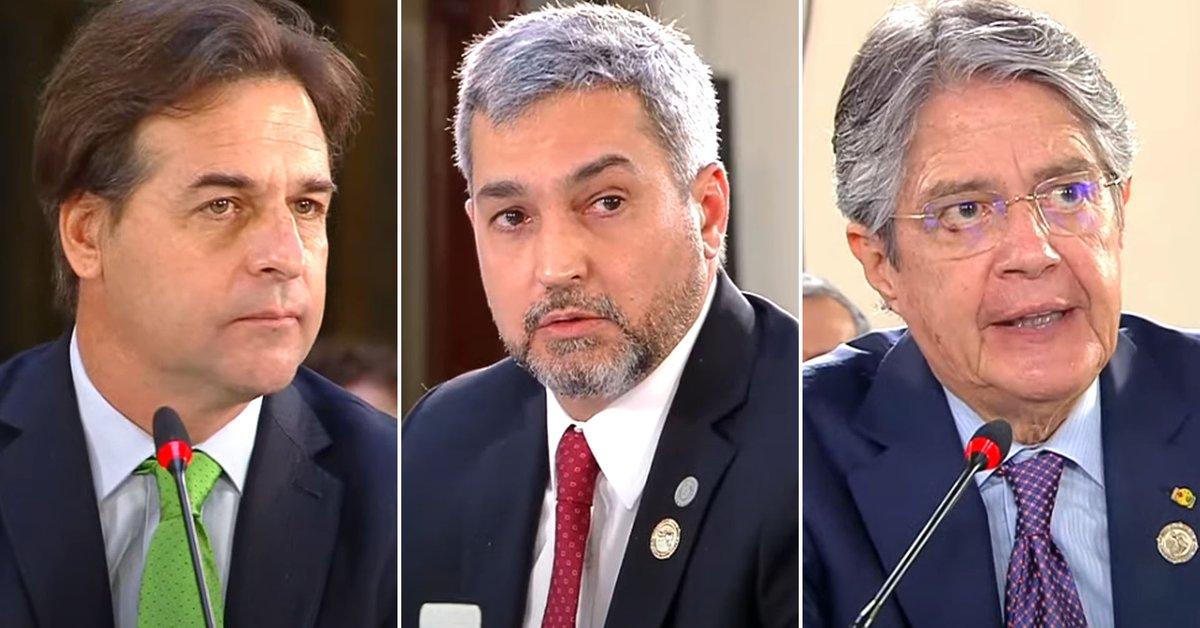 Los tres presidentes latinoamericanos que se diferenciaron de las dictaduras  de Maduro, Ortega y Díaz-Canel en la CELAC - Infobae