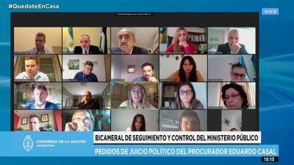 La Comisión Bicameral del Ministerio Público