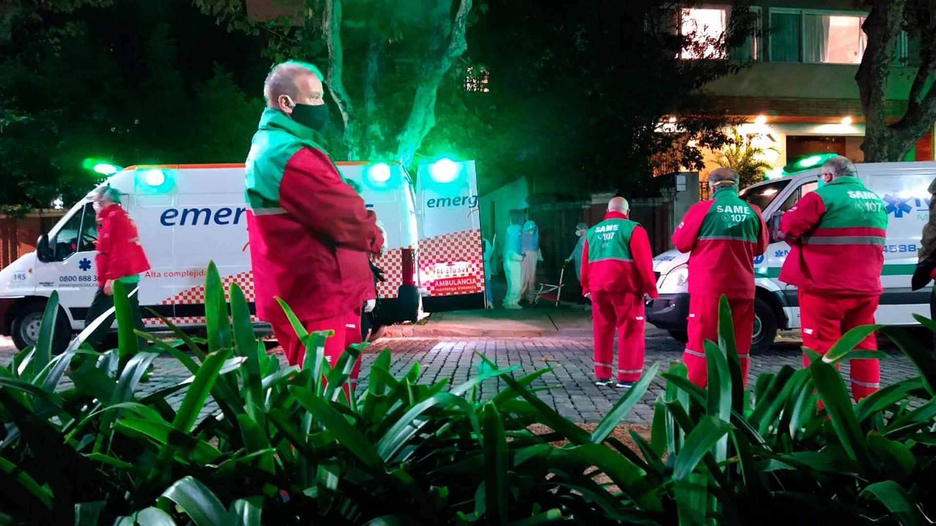 Ya hay 17 residencias geriátricas afectadas por el coronavirus en la Ciudad, con 153 contagios y 32 muertes en total (Matias Arbotto)